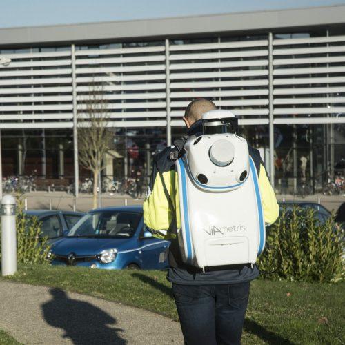 BMS3d 4cam viametris backpack mobile mapping system lidar