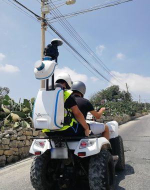 viametris backpack on quad