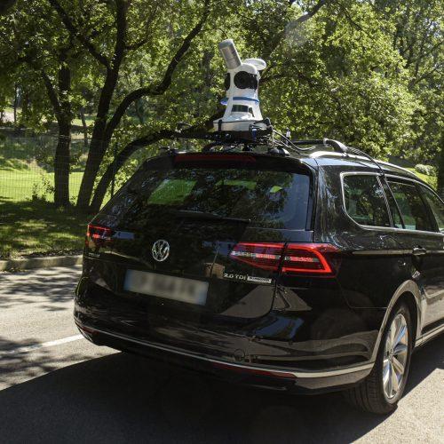 viametris vehicle mobile mapping system lidar 3D